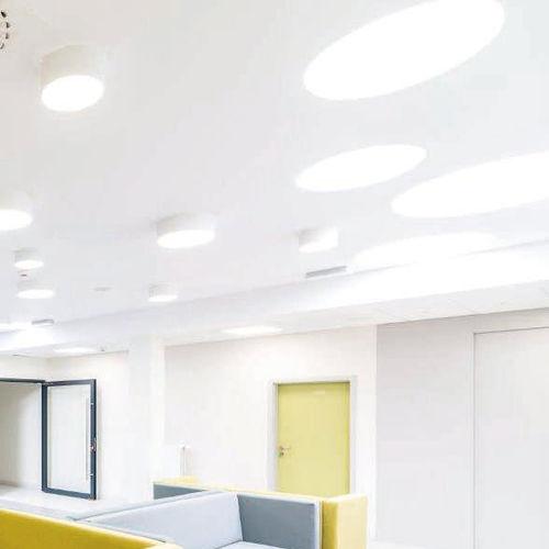 luminaire encastrable au plafond / à LED / fluocompact / rond