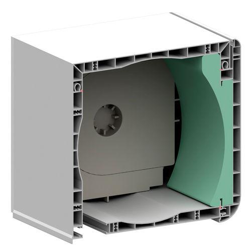 linteau/coffre en PVC