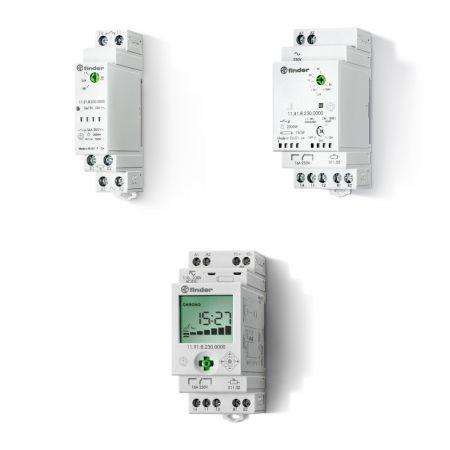 interrupteur crépusculaire modulable / sur rail DIN
