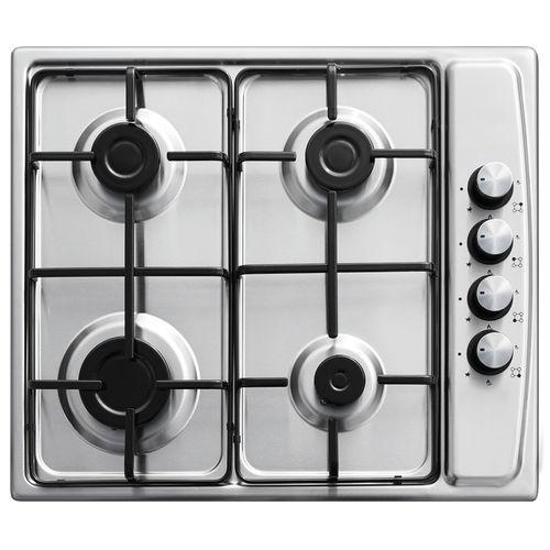 table de cuisson à gaz / en inox