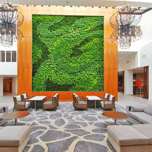 mur végétal en végétaux vivants - GSky Plant Systems, Inc.