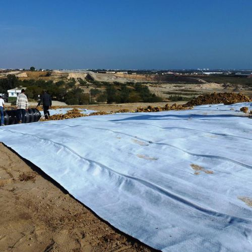 membrane d'étanchéité de drainage / pour sol d'extérieur / pour couverture / en rouleau