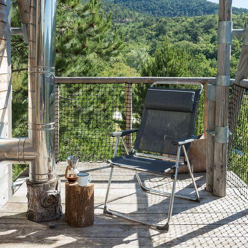 fauteuil contemporain / en Batyline® / aluminium / ergonomique