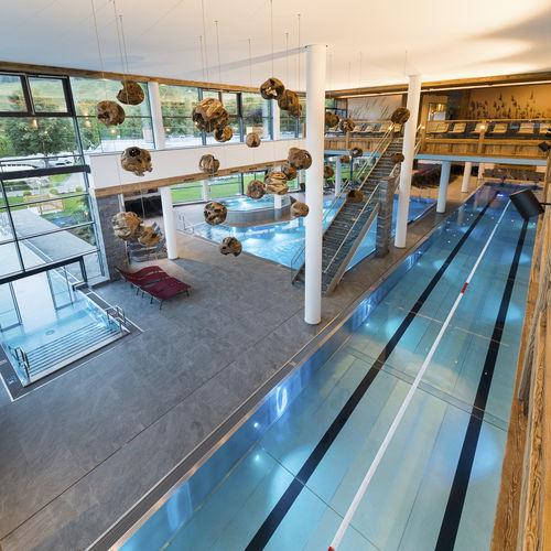 piscine autoportante / enterrée / en inox / professionnelle