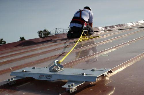 ancrage antichute pour toiture