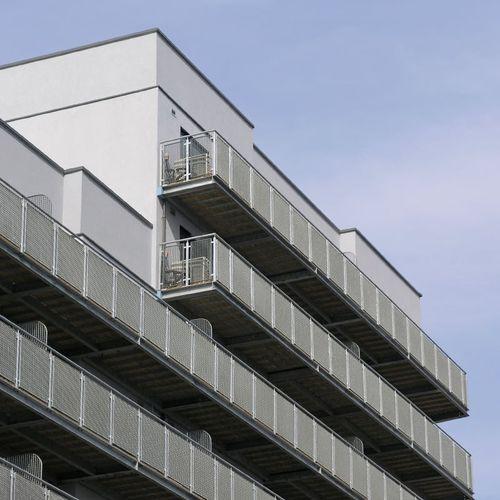balcon en grille