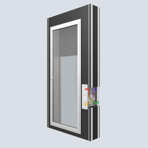 volet roulant / pour fenêtre / acoustique / à isolation thermique
