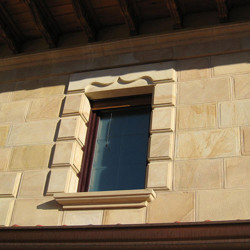 appui de fenêtre en grès  areniscas sierra de la demanda