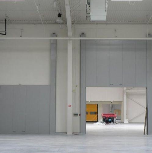 porte industrielle coulissant-verticale