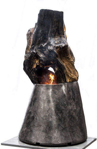 cheminée à gaz