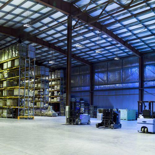 luminaire suspendu / à LED / carré / industriel