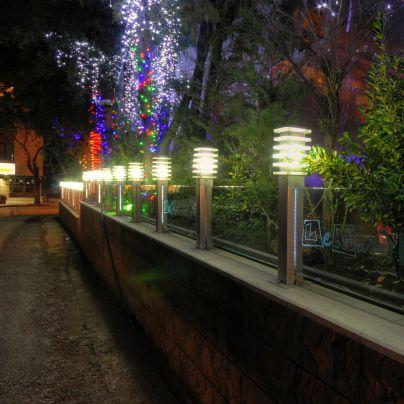 borne d'éclairage de jardin