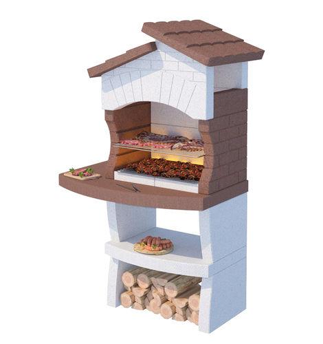 barbecue à charbon / à bois / à poser / en marbre