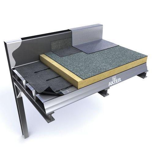 membrane d'étanchéité pour toiture-terrasse / pour toiture végétalisée / en rouleau / avec pare-vapeur