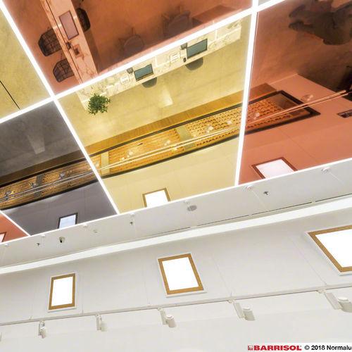 miroir de plafond / contemporain / professionnel