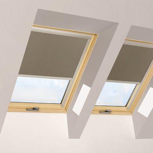 store enrouleur / en toile / occultant / pour fenêtre de toit