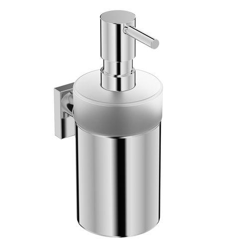 distributeur de savon professionnel / mural / en chrome / manuel