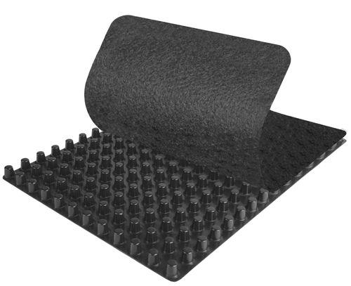 nappe drainante non-tissé / en polystyrène / en polypropylène / de protection