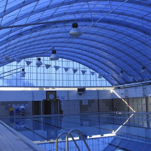 couverture de toit en polycarbonate