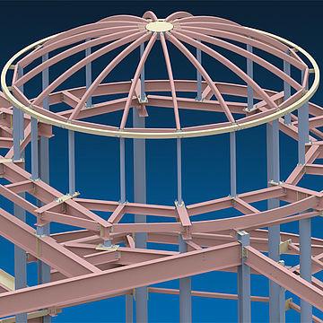 logiciel de conception / de calcul de structures / BIM (Building Information Modeling) / pour structure en acier