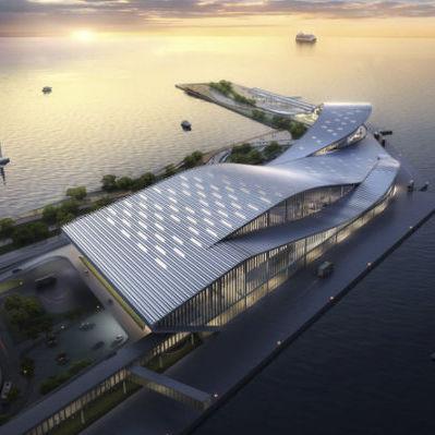 couverture de toit en aluminium