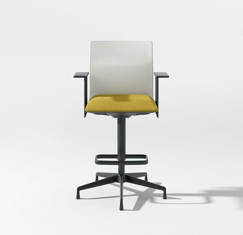chaise de travail en résille - Arper