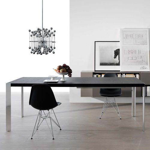 table contemporaine / en chêne / en noyer / en orme