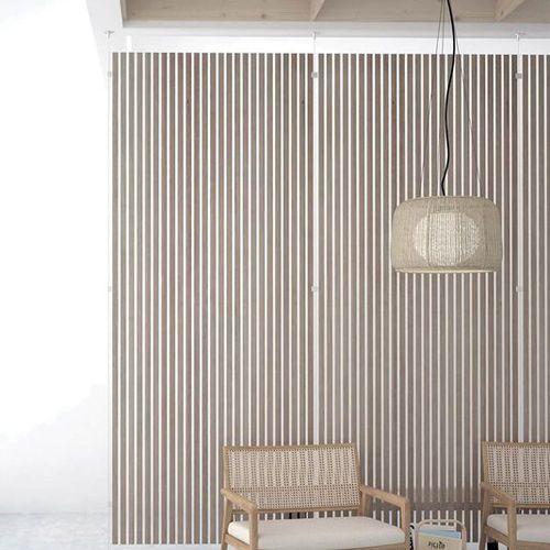 panneau décoratif de revêtement / en résine / pour cloison / pour mur