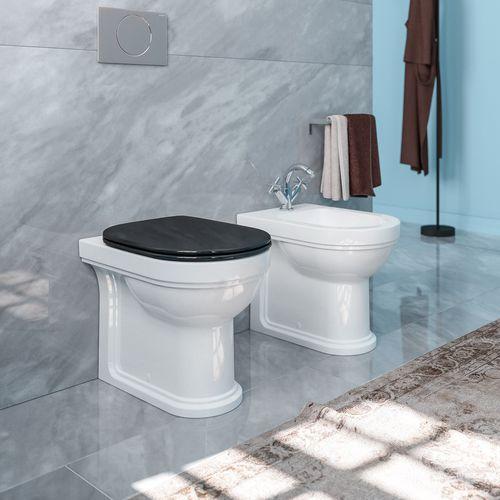toilettes à poser / en céramique