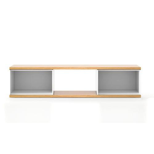 meuble TV contemporain / en chêne / en MDF