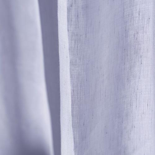 tissu pour rideaux / uni / en lin / en modal