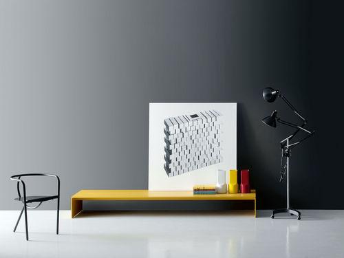 banc contemporain / en métal / en MDF / par Piero Lissoni