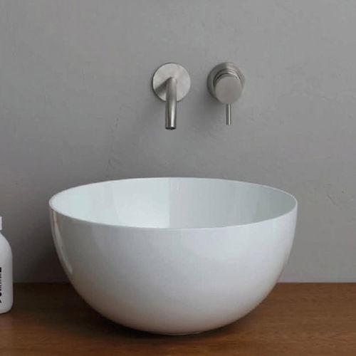 vasque multiple / à poser / ronde / en céramique