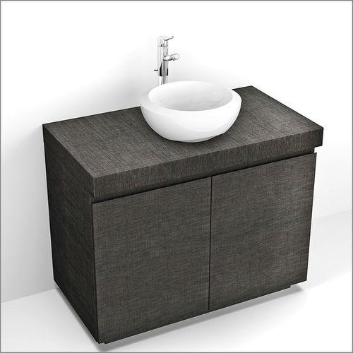 plan vasque en bois / à usage professionnel