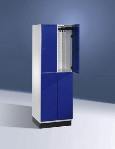 casier vestiaire en métal / pour établissement public / sécurisé