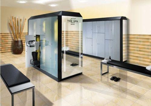 casier vestiaire en verre / pour établissement public / sécurisé