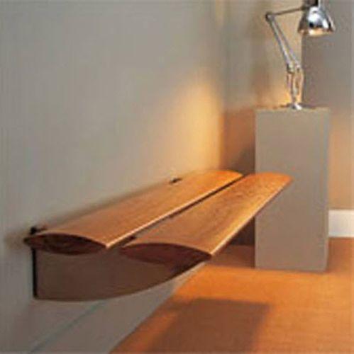 banc contemporain / en bois