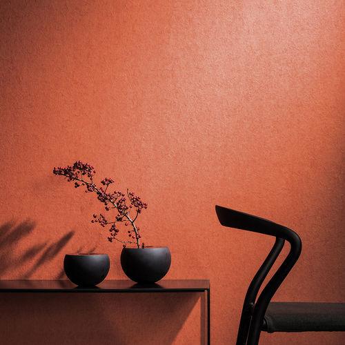 revêtement mural résidentiel / pour le tertiaire / intissé / aspect tissu