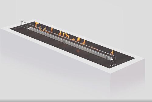 brûleur au bioéthanol rectangulaire