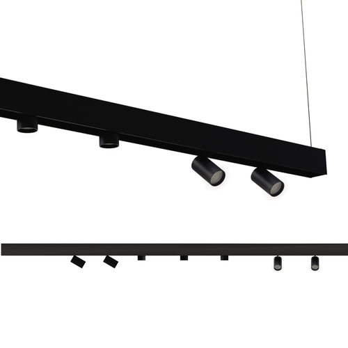 éclairage sur rail à LED - Martinelli Luce Spa