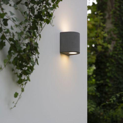 applique murale contemporaine / d'extérieur / en ciment / à LED