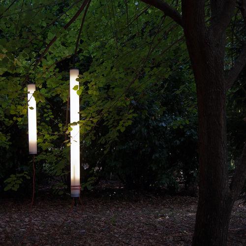 suspension / contemporaine / en aluminium / pour extérieur