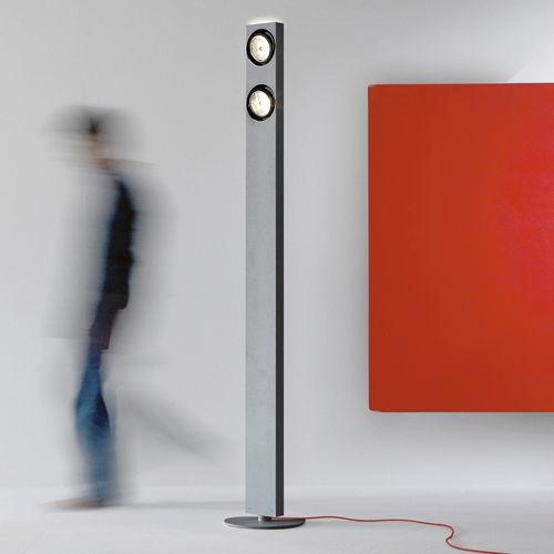 lampe sur pied / contemporaine / en aluminium / réglable