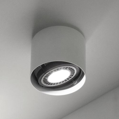 spot de plafond / à LED / rond / aluminium