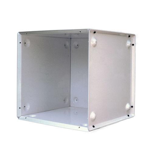 étagère modulable / contemporaine / en métal / professionnelle