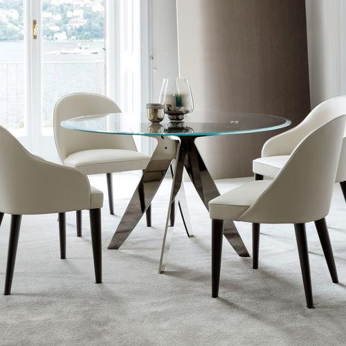 table à manger contemporaine - BERTO SALOTTI