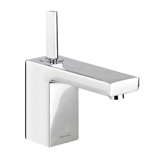 mitigeur pour vasque / en métal chromé / 1 trou