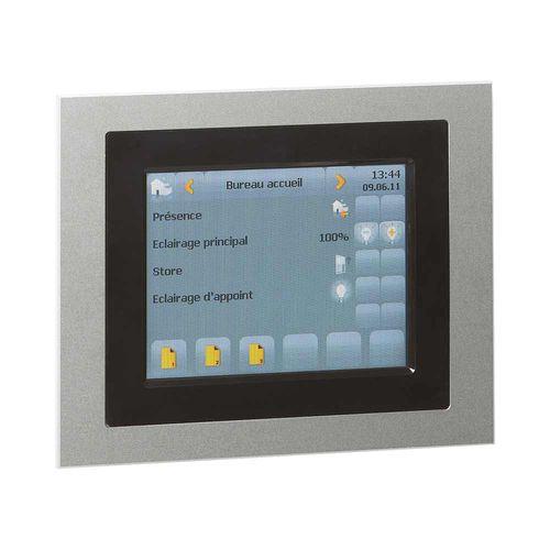 écran tactile pour contrôle d'accès / mural / KNX