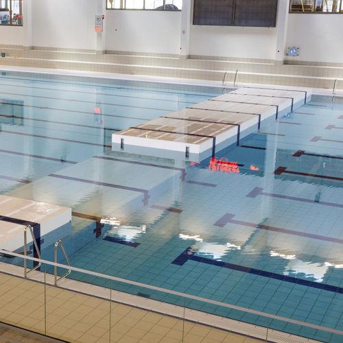 mur mobile pour piscine submersible