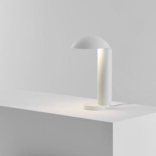 lampe de table / design minimaliste / en aluminium / en acier